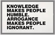 knowledge makes people....