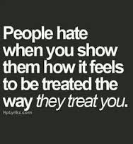 People hate.......