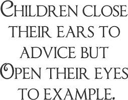 children close their eyes to.....